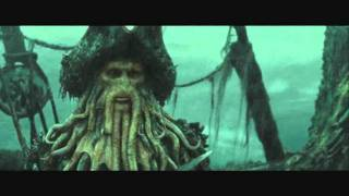 Pirates of the Caribbean Davy Jones Scenes