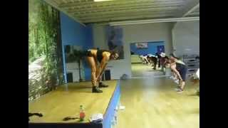 Hilarious French Zumba Instructor! Funny! Part 3