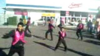 Chambelanes exploxion dance calle 8