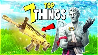 7 FORTNITE SECRETS I Wish I Knew When I Started | Fortnite Battle Royale Pro Tips and Tricks