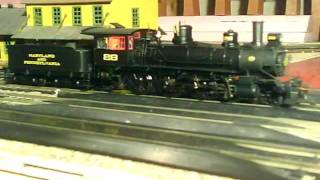 HO Bachmann 4-6-0 Ma & Pa Maryland & Pennsylvania DCC Sound