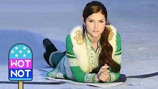Anna Kendrick Slips on Ice Filming Christmas Comedy Noelle