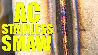 🔥 AC Stainless Stick Welding (Everlast PowerTIG 250EX)