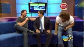 Entrevista con los ex WWE: Morrison y Carlito