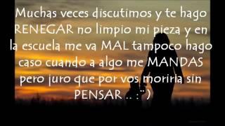 ♥ QUERIDA MADRE ♥   Rap para dedicar a mamá  2016 ♥ L A D♥