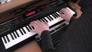 How to play Tiesto - Elements Of Life -  on keyboard