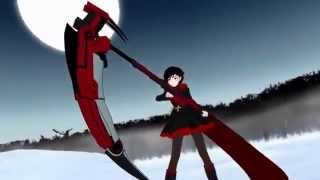 RWBY: Ruby Rose vs. pack of Beowolves (60FPS)