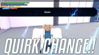 MHA Plus Ultra | How To Change Your Quirk/Power | Roblox MHA Plus Ultra