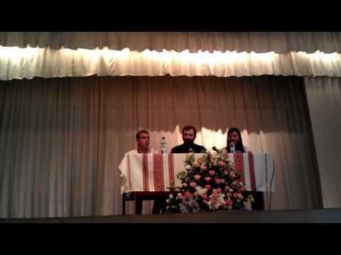 Зустріч Блаженнішого Святослава з молоддю Києва (2/4)