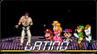 "el por que un crossover entre ""super smash bros"" y ""street fighter"" no es buena idea (LATINO)"