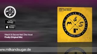West.K & Saccao feat. Diva Vocal - Finally (Original Mix)   Preview