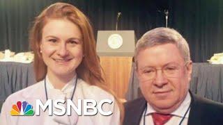 Maria Butina Takes Plea Deal, Cooperating With Investigators: Reports | Rachel Maddow | MSNBC width=