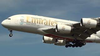 London Heathrow Airport Plane Spotting (full HD)