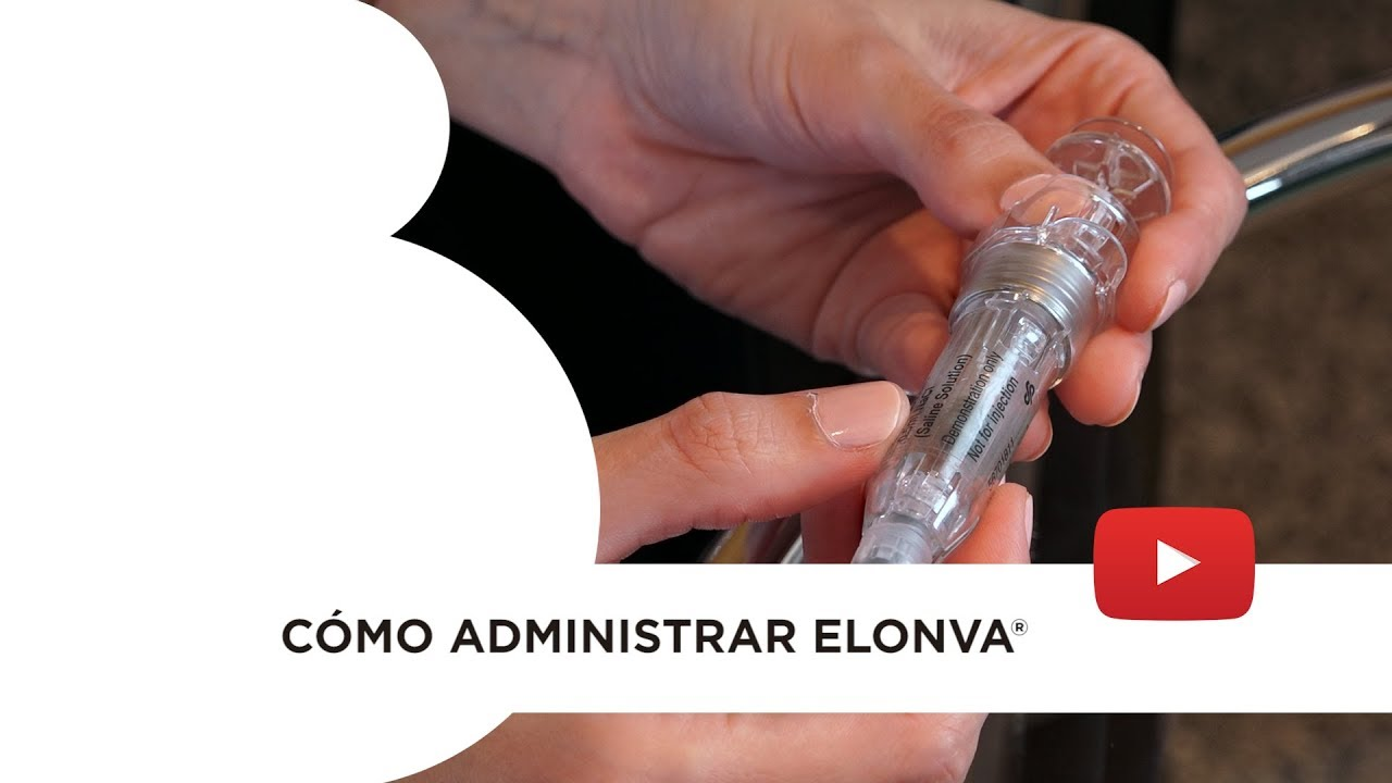 Elonva®: preparación y administración de la medicina. Instituto Bernabeu