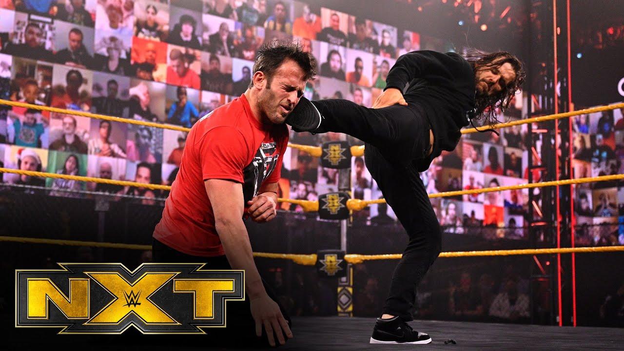 WWE - Adam Cole blasts Finn Bálor and double-crosses Roderick Strong: WWE NXT, Feb. 24, 2021
