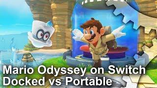 Mario Odyssey tech analysis reveals increased resolution