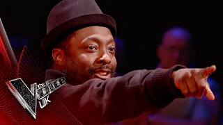will.i.am brings that FYA! 🔥🔥🔥 | The Voice UK 2017