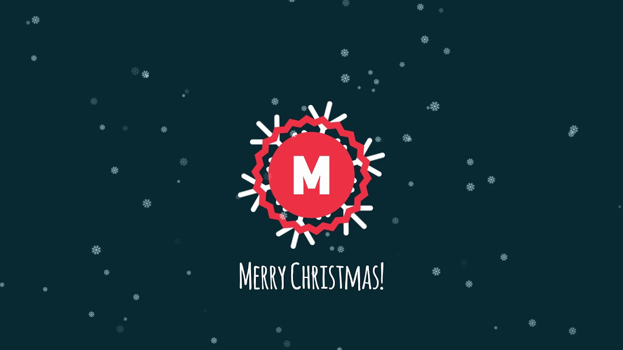 Christmas Logo - Davinci Resolve Templates