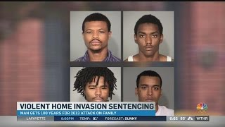 Final suspect in violent home invasion sentenced