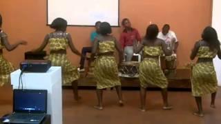 Dança Moçambicana. Mozambique dance.