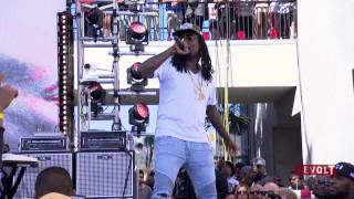 Tyga Rich Homie Quan And Wale Perform At Exclusive Furious 7 Takeover