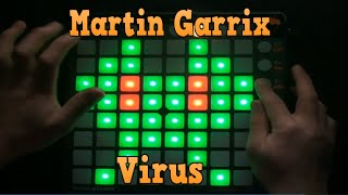 Martin Garrix - Virus Launchpad Cover + (PROJECT FILE)