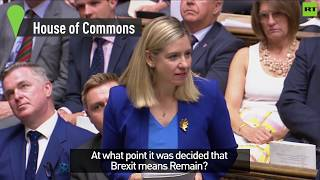 Andrea Jenkyns: When did Brexit mean Remain?