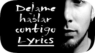 Lytos - Déjame Hablar Contigo (Lyric Video)