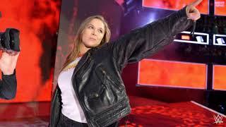 Ronda Rousey 1st WWE Theme Song - Bad Reputation
