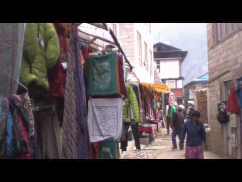 Scenes From Namche Bazaar