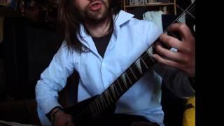 Dimmu Borgir Arcane Lifeforce Mysteria - short guitar vocal cover