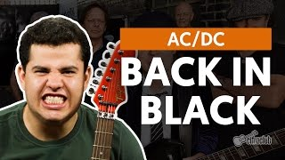 Videoaula Back In Black (aula de guitarra)