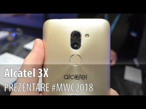 Alcatel 3X - Prezentare hands-on