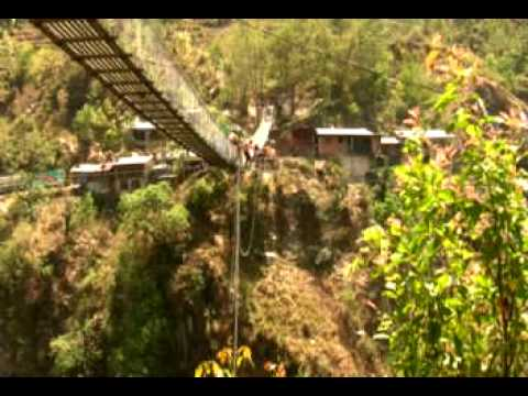 Nepal bungee jump, paragliding, and swimming with elephants