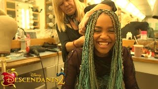 Get Real with China Anne McClain | Descendants 2