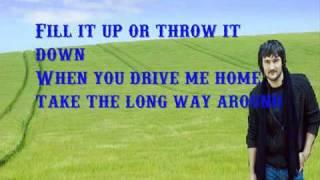 Eric Church- Drink In My Hand  Lyrics