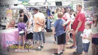 "Rachel Holder ""Shining Now"" EP Promo in Walmart"