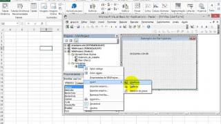 Excel e Vba - Abrir e Fechar Formularios VBA