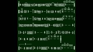 5.悲情的城市(Bb)伴奏-(簡譜)