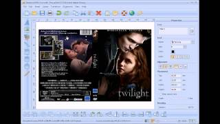 How to design and print DVD Cover without PhotoShop