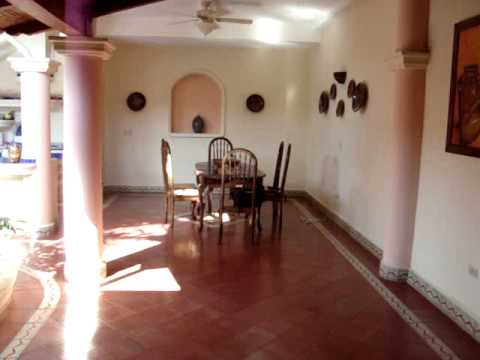 Casa Bella. Granada, Nicaragua. Where we eat, sleep and WORK!