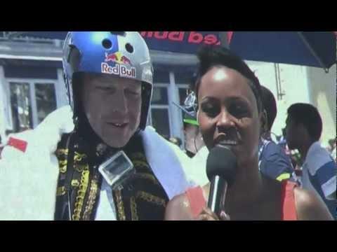 Chilli Chilli Bang Bang flight at Redbull Flugtag Cape Town 2012