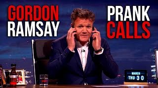 Gordon Ramsay Prank Calls Two Different Restaurants (and finally finds the lamb sauce!)