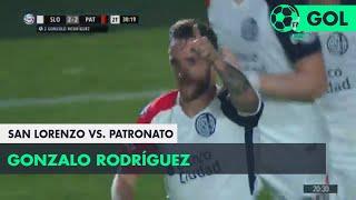 Gonzalo Rodríguez (2-2) San Lorenzo vs Patronato | Fecha 6 - Superliga Argentina 2018/2019