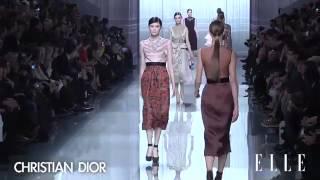 Christian Dior. Paris Fashion Week otoño - invierno 2012-201