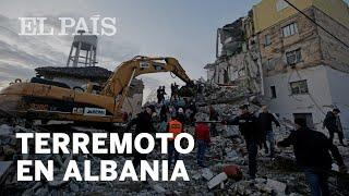 Un #TERREMOTO en ALBANIA de 6,4 grados