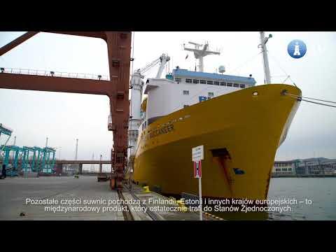 86 suwnic Konecranes popłynie z Gdyni do USA. Pierwszy transport już w drodze