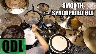 Smooth Syncopated Fill - QUICK DRUM LESSON
