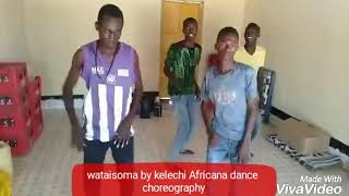 Wataisoma by kelechi Africana dance choreography by flamers juniors dance crew