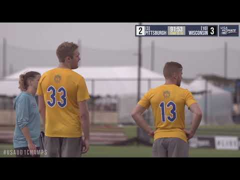 Video Thumbnail: 2019 College Championships, Men's Pool Play: Pittsburgh vs. Wisconsin